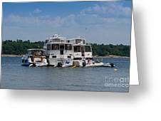 Boating Buddies Greeting Card