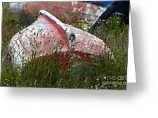 Boat Graveyard Peurto Natales Chile 6 Greeting Card