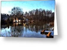 Boat House 2 Greeting Card