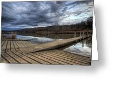 Boat Ramp Greeting Card