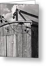 Boat Shed Greeting Card