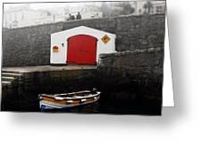 Boathouse Greeting Card