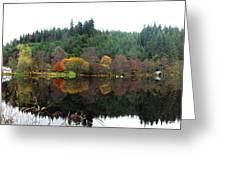 Boathouse On Loch Ard Greeting Card