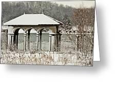 Boathouse Pavilion Greeting Card