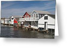 Boathouse Row Greeting Card