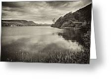 Boathouse Ullswater Greeting Card