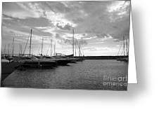 Boats 4 Greeting Card