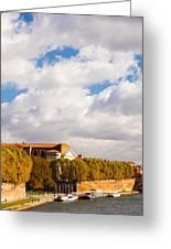 Boats At Quai De La Daurade, Toulouse Greeting Card