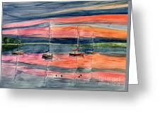 Boats At Skaneateles Lake Ny Greeting Card