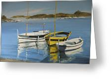 boats of Cadaques Greeting Card
