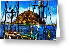 Boats Of Morro Bay Greeting Card