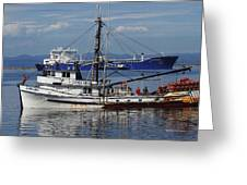 Boats Of The North West Greeting Card