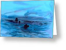 Boats On The Chesapeake Bay Greeting Card
