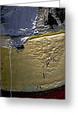 Boatyard Paint Greeting Card