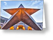 Texas Star  Greeting Card