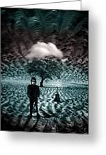 Bob Dylan A Hard Rain's A-gonna Fall Greeting Card
