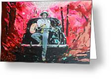 Bob Dylan - Crossroads Greeting Card