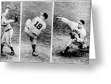 Bob Feller Pitching Greeting Card