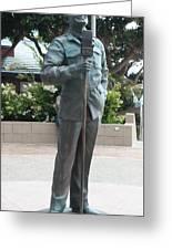 Bob Hope Memorial Statue Greeting Card