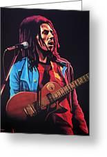 Bob Marley 2 Greeting Card