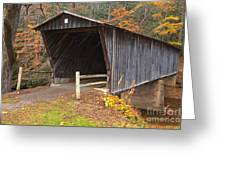Bob White Covered Bridge Greeting Card