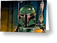 Boba Fett 2 Greeting Card