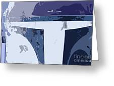 Boba Fett Helmet 10 Greeting Card
