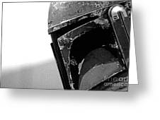 Boba Fett Helmet 24 Greeting Card