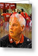 Bobby Knight Indiana Legend Greeting Card