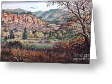 Bobcat Ridge Greeting Card by W  Scott Fenton