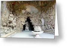 Boboli La Grotta Grande 3 Greeting Card by Ellen Henneke