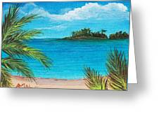 Boca Chica Beach Greeting Card