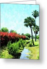 Boca Grande Floral Greeting Card