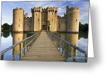 Bodiam Castle Greeting Card