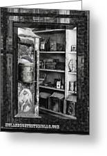 Bodie California Store Window Greeting Card