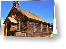 Bodie Church Greeting Card