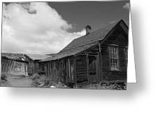 Bodie Collapse Greeting Card