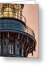 Bodie Island Lighthouse Close-up Greeting Card