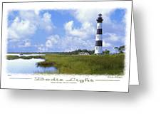 Bodie Light  S P Greeting Card