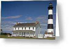 Bodie Lighthouse Obx Greeting Card