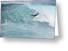 Body Surfer  Greeting Card
