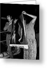 Body Talk Poster Prize Jello Wrestling Contest Gay Bar Tucson Arizona July 4th 1992 Greeting Card