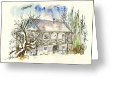 Boeger Winery Greeting Card