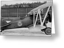 Boeing 100-f  P-12 Prototype Greeting Card