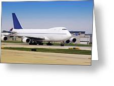 Boeing 747 Cargo Airplane Greeting Card