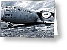 Boeing C-17 Airplane Greeting Card