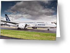 Boeing Dreamliner 787 Greeting Card