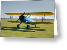 Boeing Stearman Hdr Greeting Card