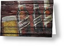 Bohemia Beer Greeting Card