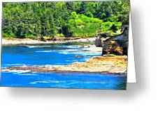 Boiler Bay 17160 Greeting Card